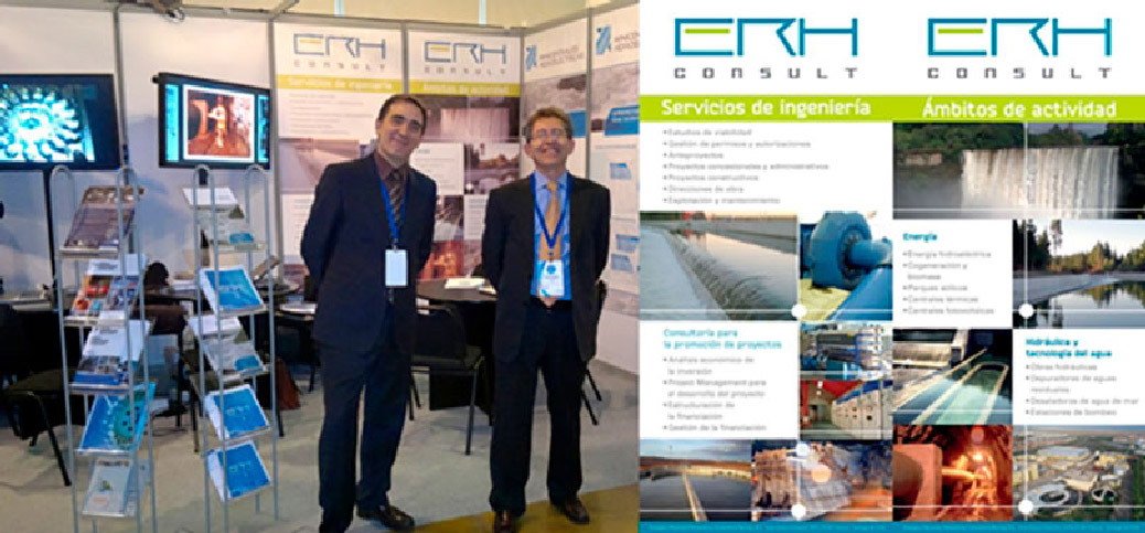 ERH Consult has participated in the Expo PEMEC 2012 in Santiago de Chile