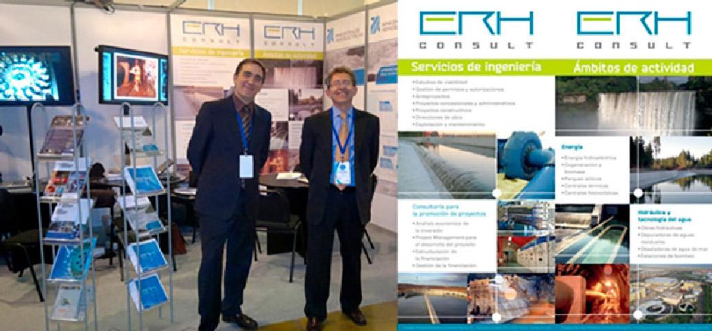 ERH Consult has participated in the Expo PEMEC 2012 in Santiago de Chile