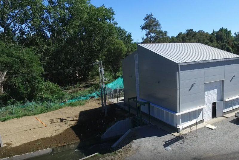 Generación del primer kWh de la CH de Santa Isabel