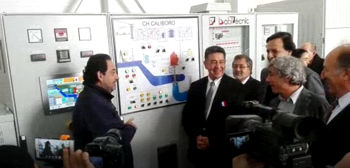 INAUGURATION OF THE HYDROELECTRIC POWER PLANTS OF MELO, CALIBORO AND SANTA ISABEL